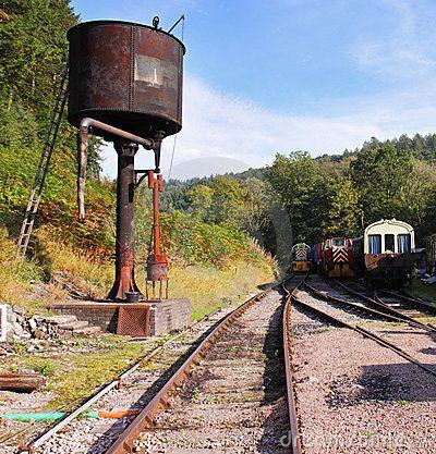 train water tower