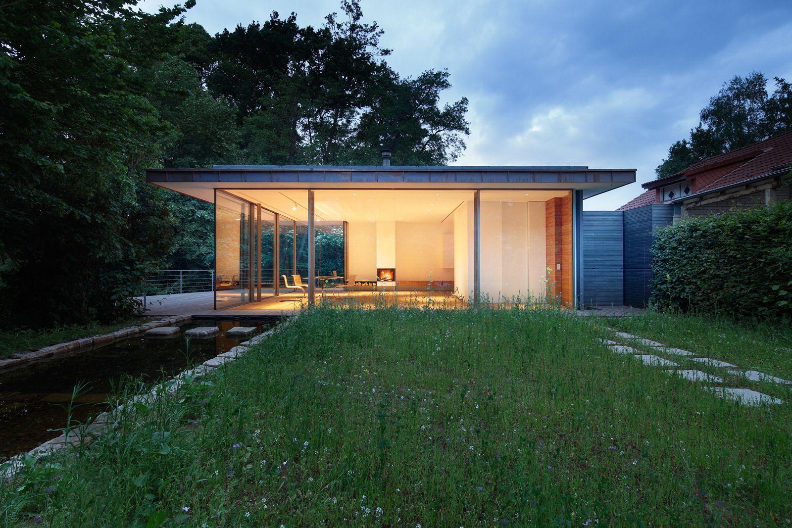 Photo 1 Of 6 In House Rheder Ii By Falkenberg Innenarchitektur German Houses Weekend House Modern House Design