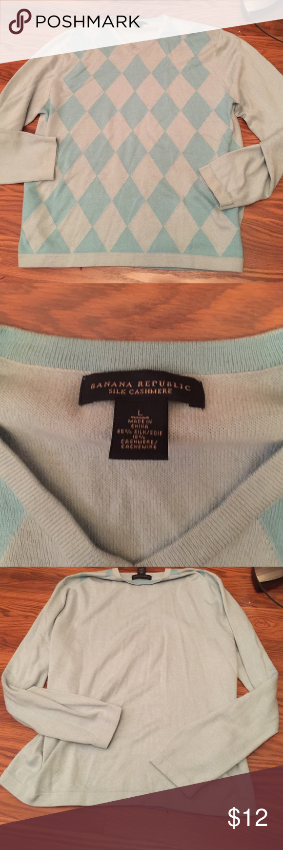Men's sweater Worn only a few times. No holes or peels Banana Republic Sweaters Crew & Scoop Necks