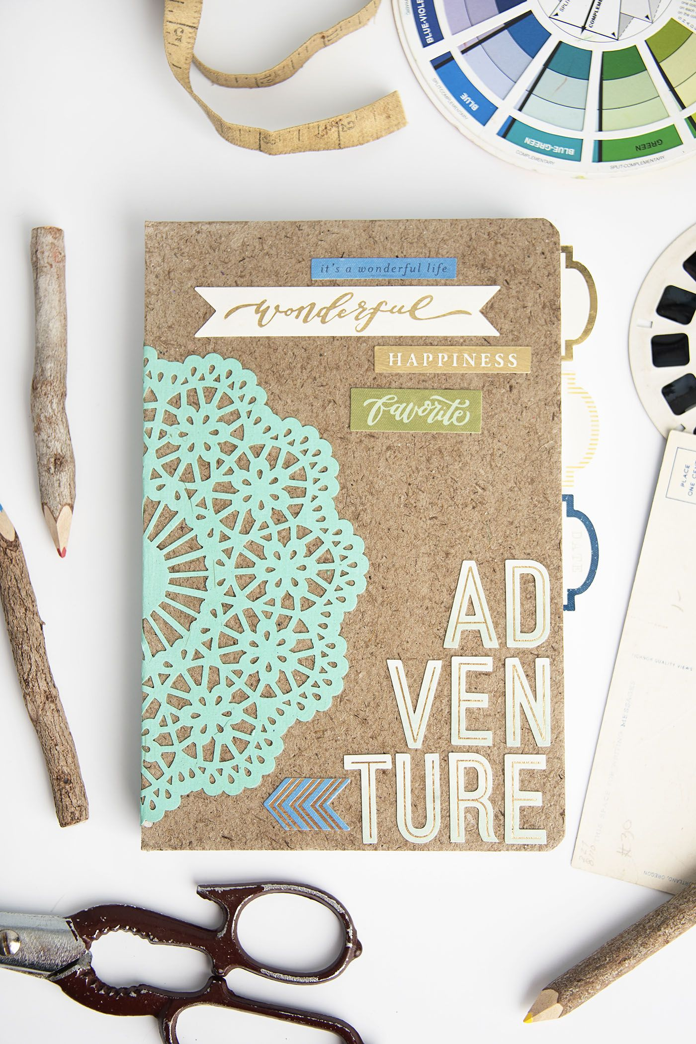 DIY Notebook in a Matter of Minutes! Diy projects for