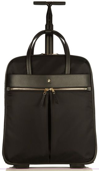 This Classic Rolling Carry On / Laptop Bag For Women Features Knomo At Its Very Best. | Luggage ...