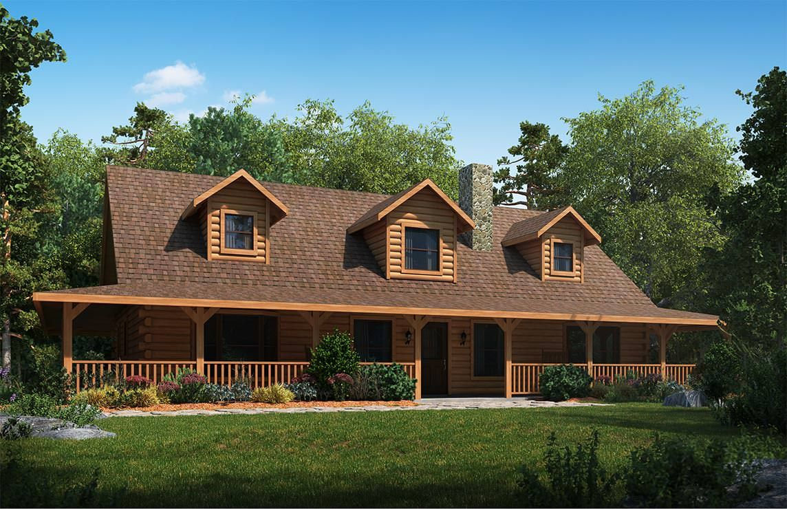 Satterwhite Log Homes Cedar Ridge Floor Plan Home Ideas Log