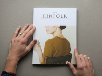 I love the freshness in Amanda Jane Jones design for Kinfolk magazine