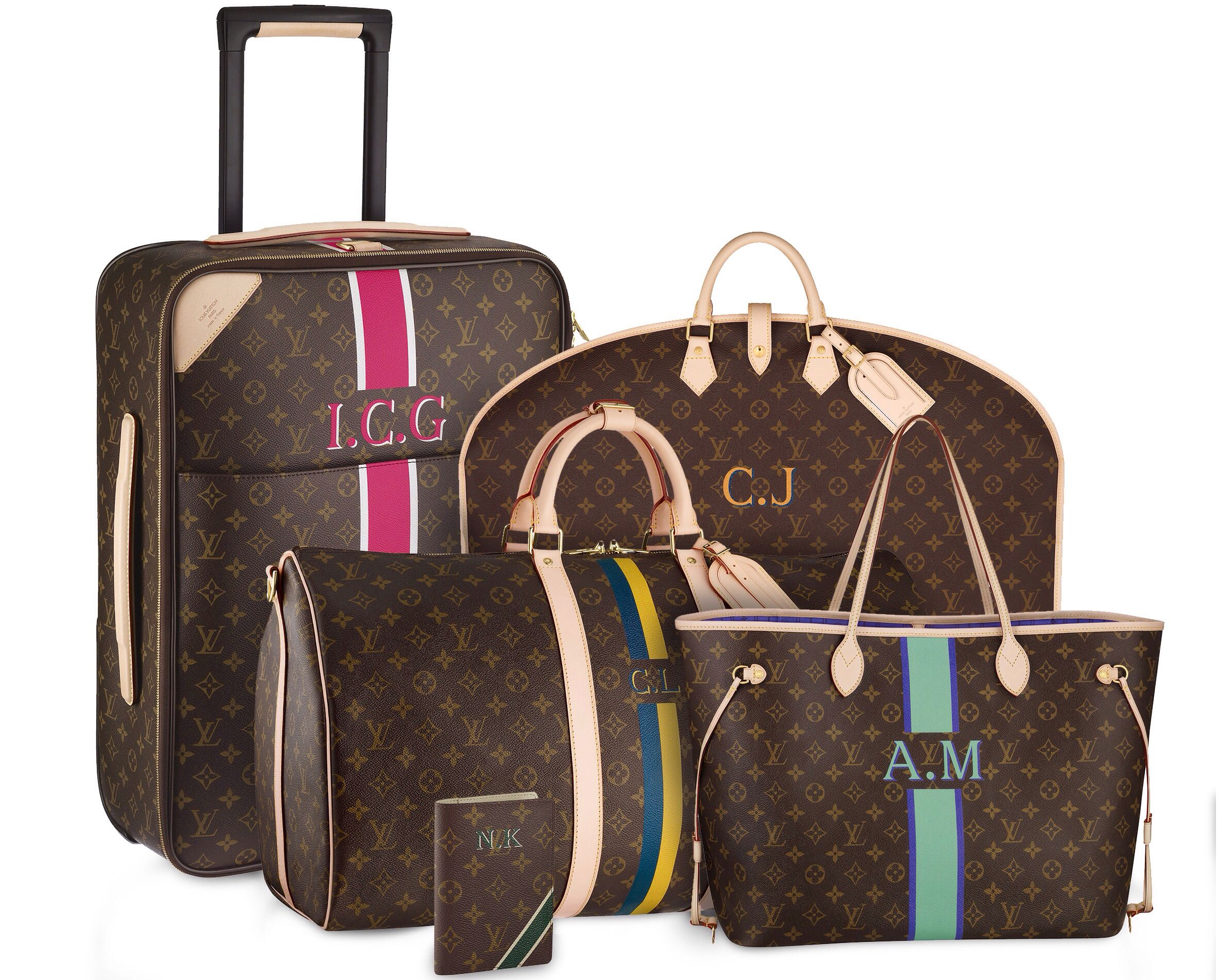Louis Vuitton travel bag set! | Women's Fashion | Pinterest | A ...