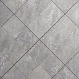 Shop Style Selections Tousette Gray Ceramic Floor Tile Common 13 In X 13 In Actual Tile Floor Quartz Floor Tiles Ceramic Floor