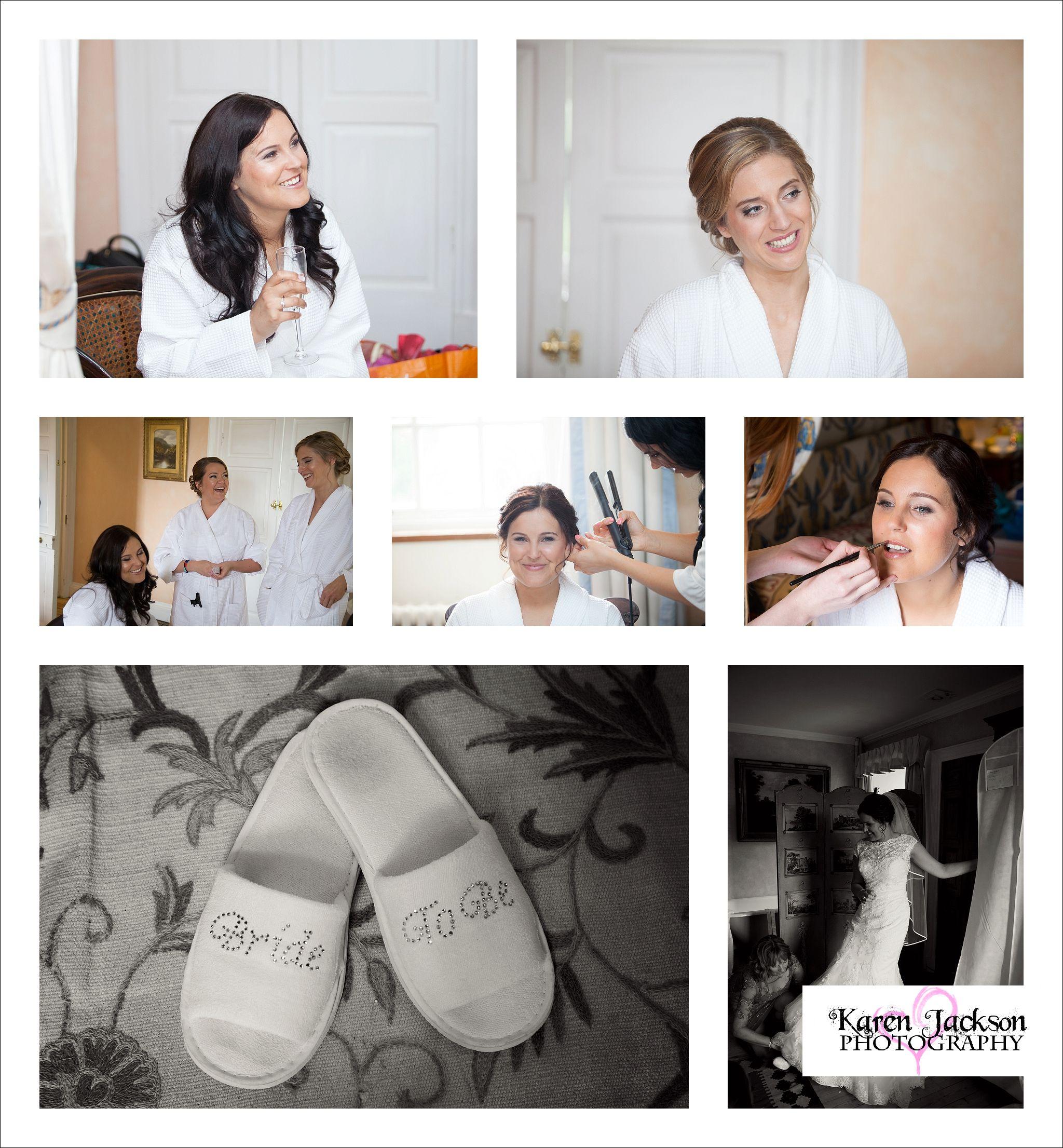 Piperdam Wedding Photography Angus Scotland Photographer Dundee Karen Jackson Bridal Prep Getting Ready Dress Shoes Bridesmaids