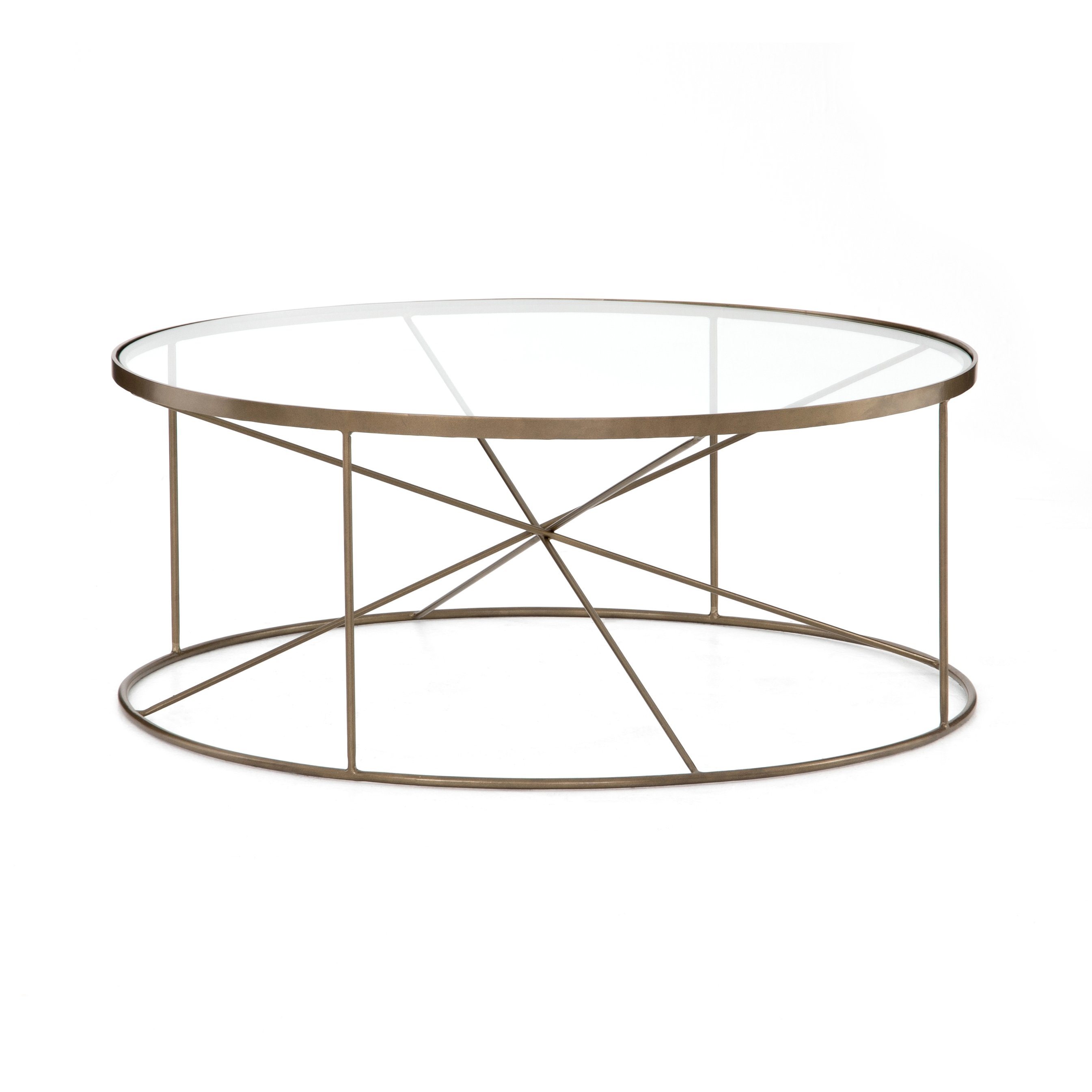 Lucas Round Coffee Table Round Coffee Table Brass Round Coffee Table Glass Coffee Table Decor [ 2690 x 2690 Pixel ]