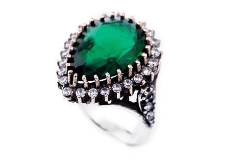 925 Silver Ottoman Hurrem Sultan Ring Emerald Holiday Adds Best Engagement Rings Beautiful Jewelry Jewelry