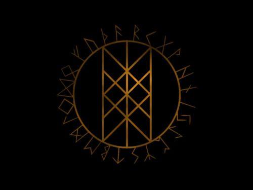 Web Of Wyrd Skuld S Net The Matrix Of Fate Wyrd Nine Staves Meanings Past Present And Future Viking Runes Viking Tattoos Viking Symbols