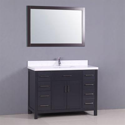 Golden Elite Bathroom Vanity CT48 Capetown 49-in Bathroom vanities