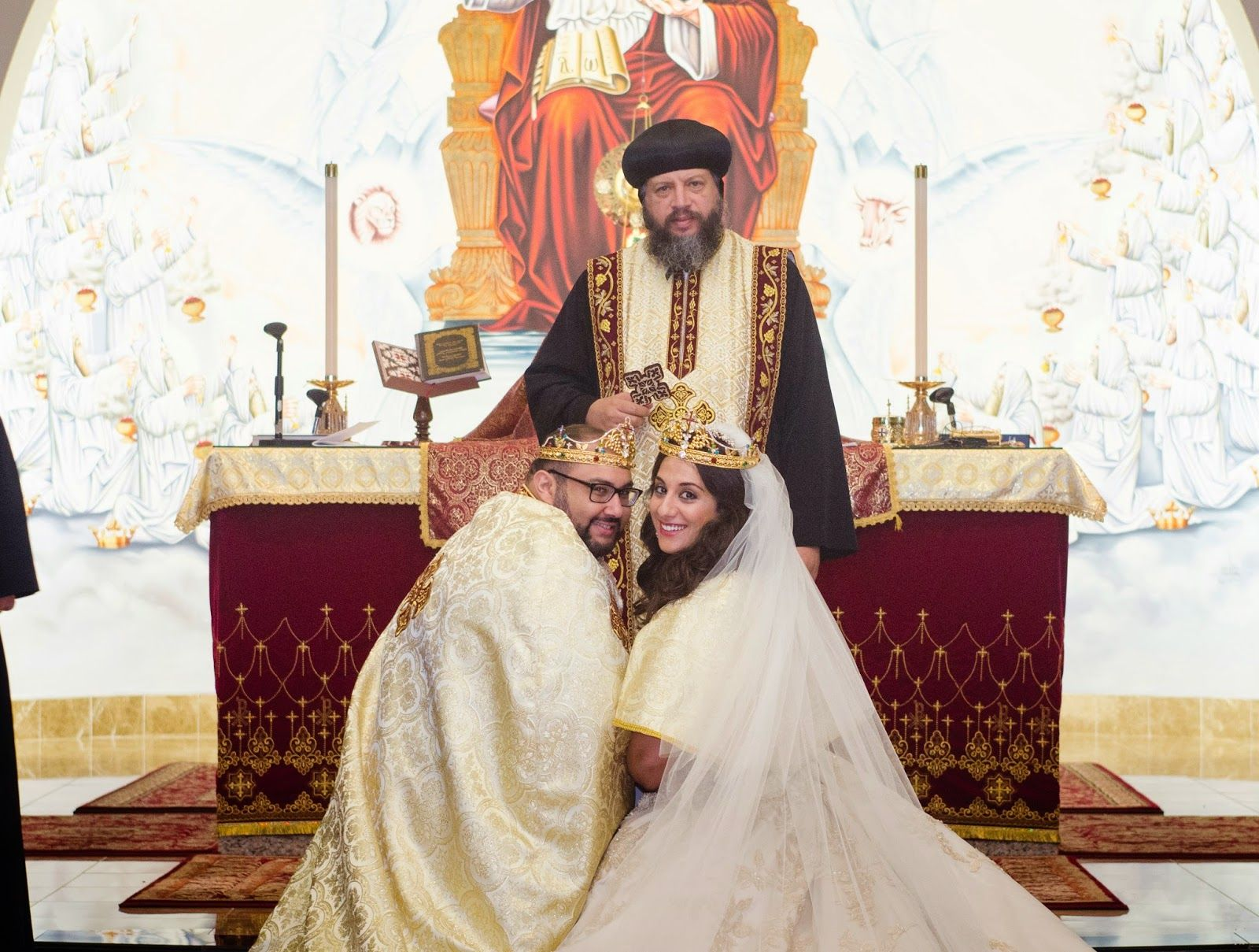 Real Wedding Marianne And Mark Traditional Coptic Christian