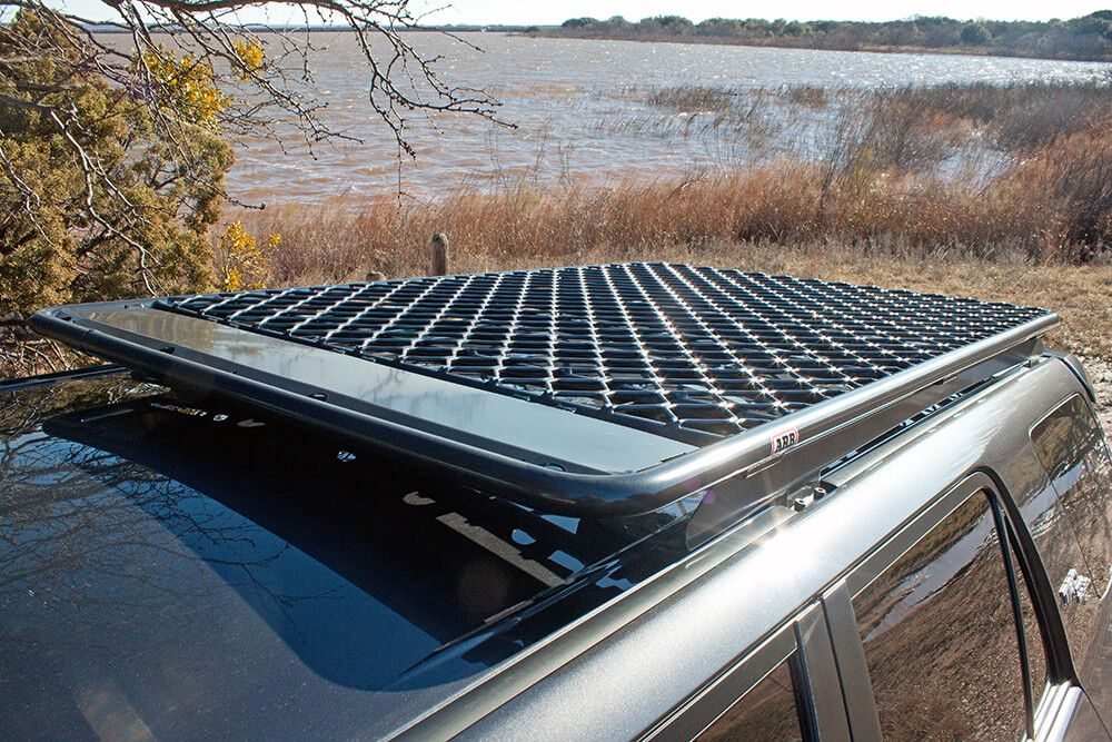 Arb Flat Rack Overview Install On 5th Gen 4runner Low Profile Rack 4runner Roof Rack Roof Rails