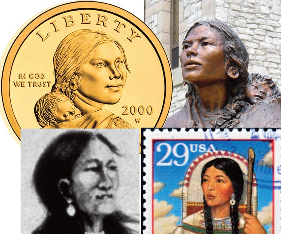 November 4, 1804: Sacagawea, sixteen, joins the Lewis and Clark Expedition with French-Indian trader and interpreter Toussaint Charbonneau, who has fathered her infant son. She is the only woman, American Indian, and teenager on the 8,000-mile exploration of the Western United States.
