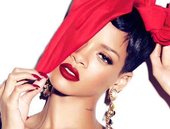 Rihanna for MAC. Photo: Courtesy of MAC