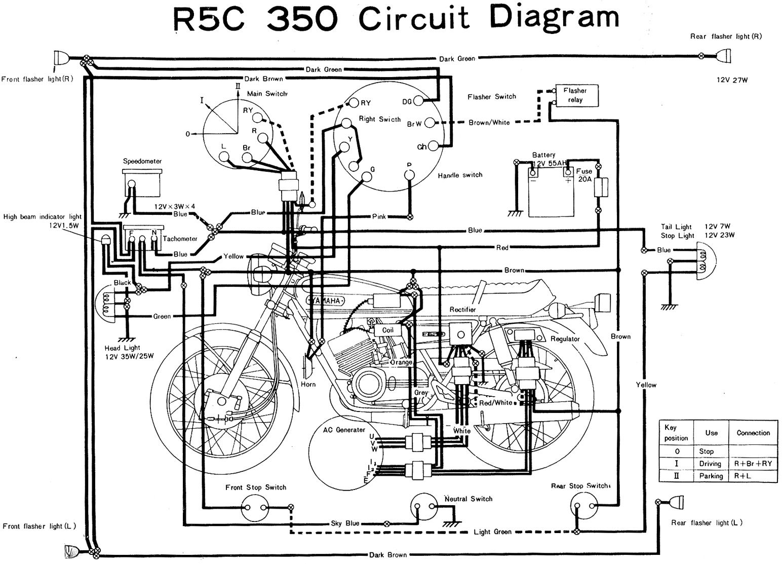 Electric Engine Component Diagram