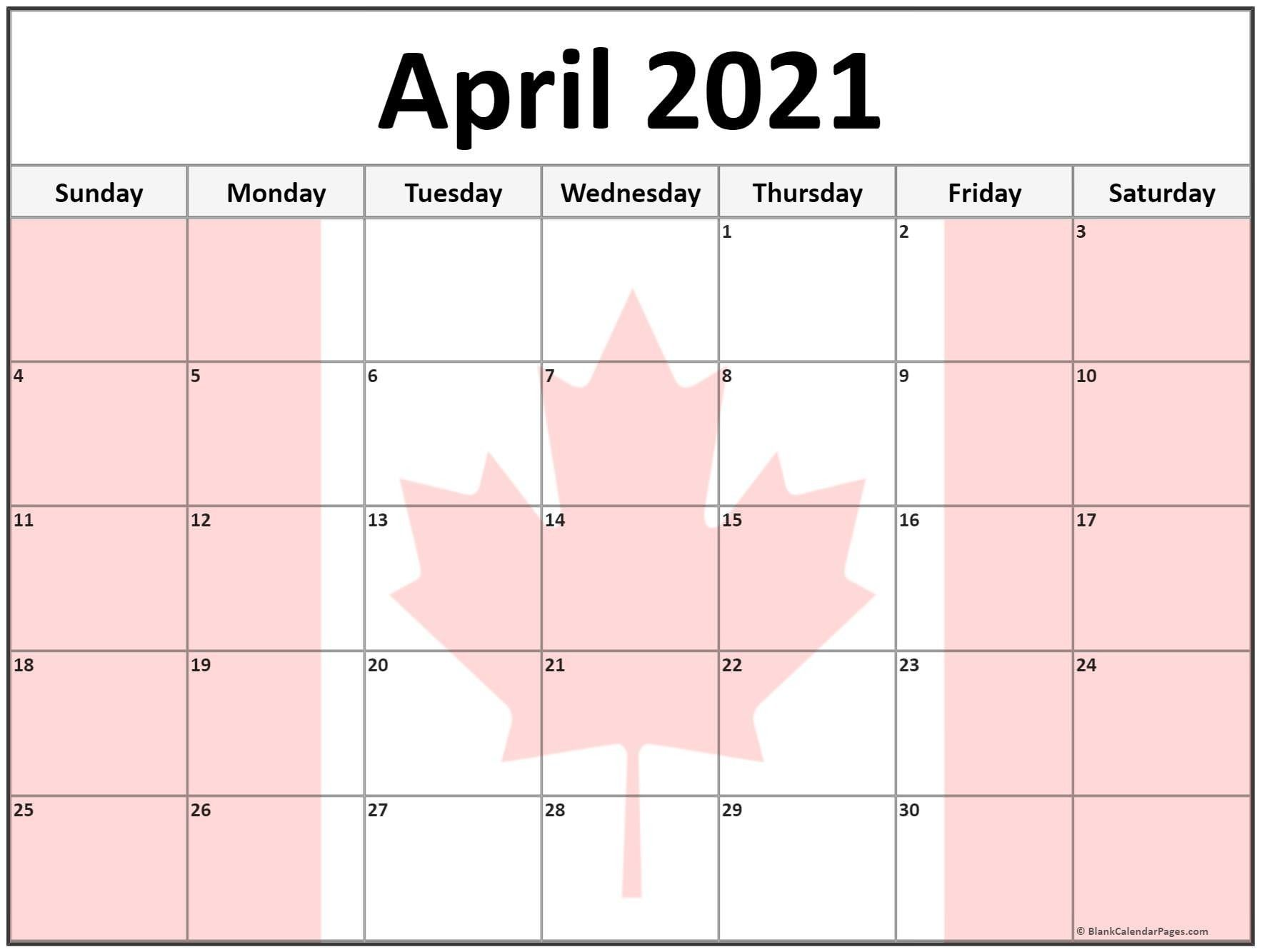 20+ March 2021 Calendar Canada - Free Download Printable ...