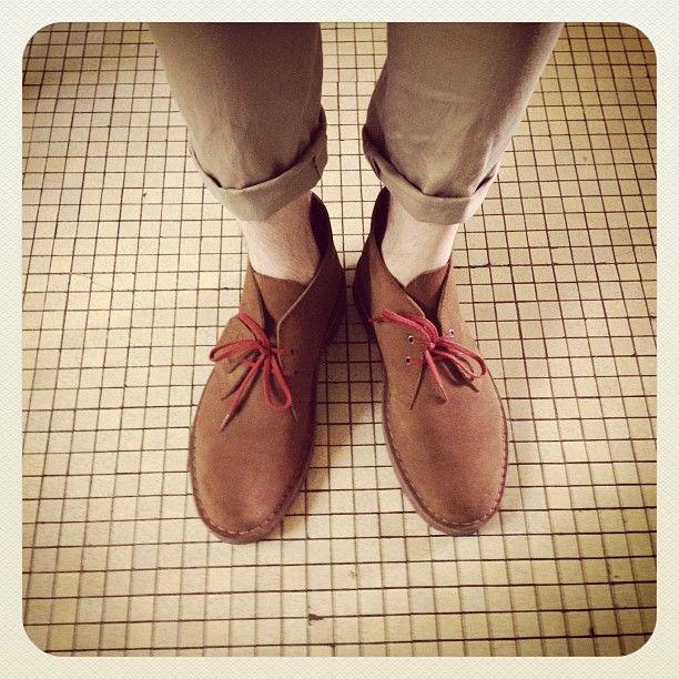 #clarks | #desertboots | Instagram photo by @Le KG