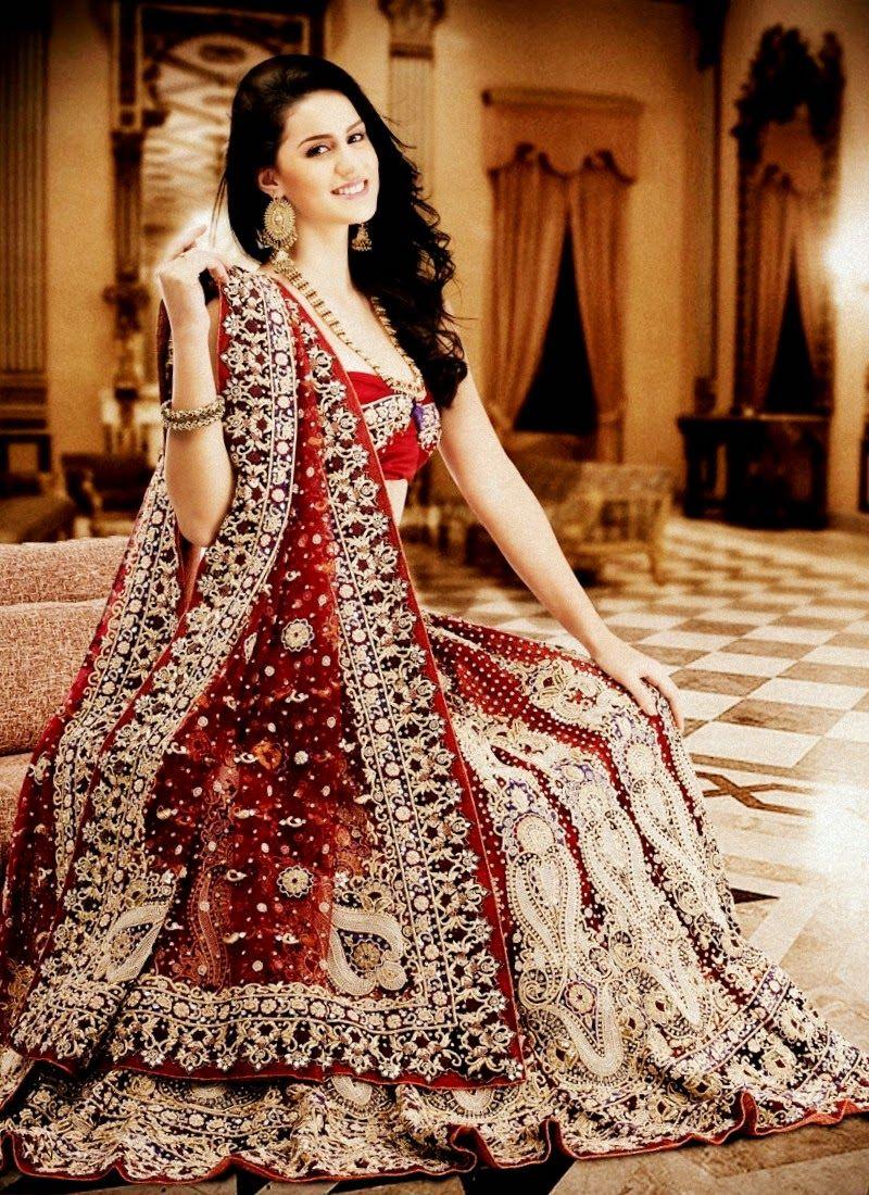 Robe de mariage en inde
