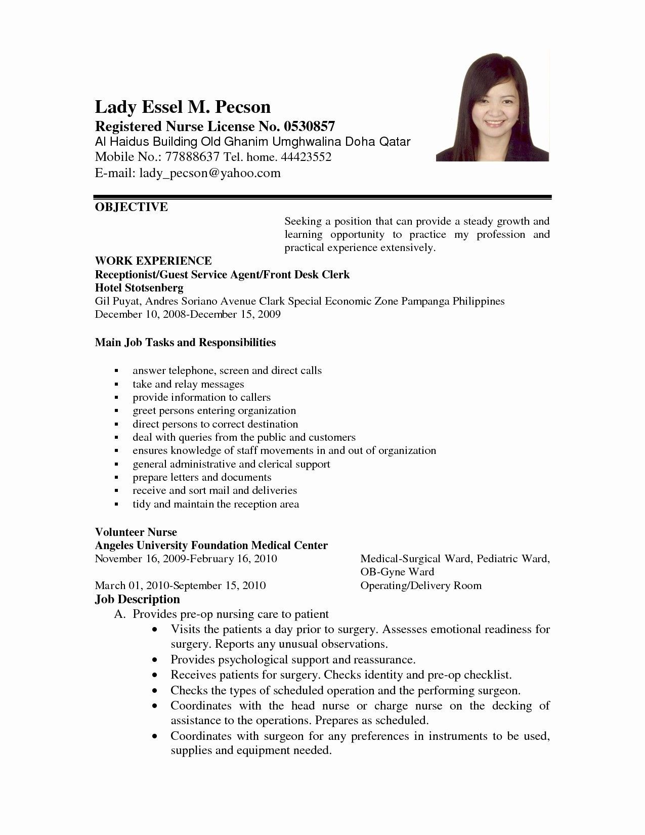 Writing Medical Resistant Resume with Samples (With images
