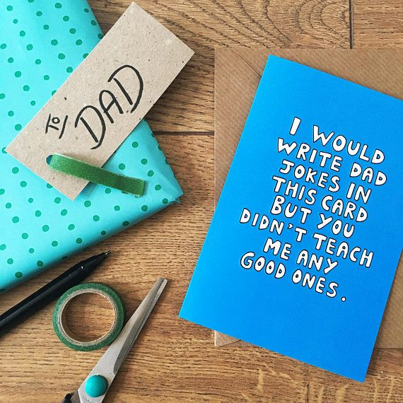 Funny Fathers Day Card Pun Fathers Day Card Fathers Day Joke