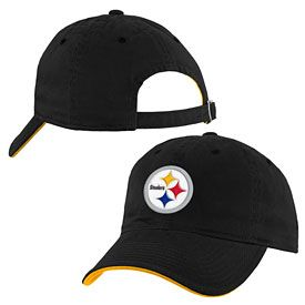 75198b07 Get this Pittsburgh Steelers Youth Slouch Adjustable Cap at  ThePittsburghFan.com