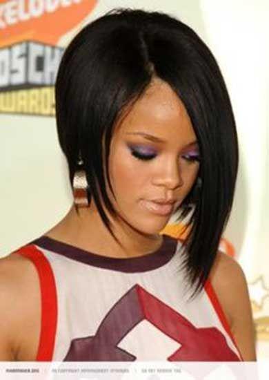 Stylish Bob Haircut Ideas For Girls Rihanna Short Hair Rihanna Hairstyles Bob Haircut Black Hair