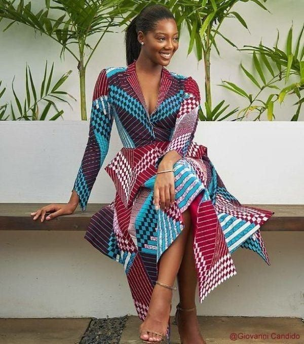 30 Best Kitenge Designs for Long Dresses 2019 Kitenge Styles #kitengedesigns
