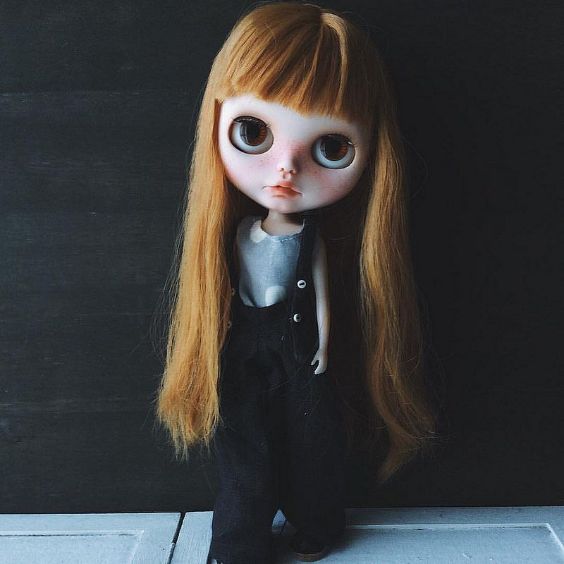 2way wide pants #blythe #blytheoutfit #doll #dolloutfit #handmade #linen #fashion #kawaii #morigirl #dakawaiidolls | von Dakawaiidolls