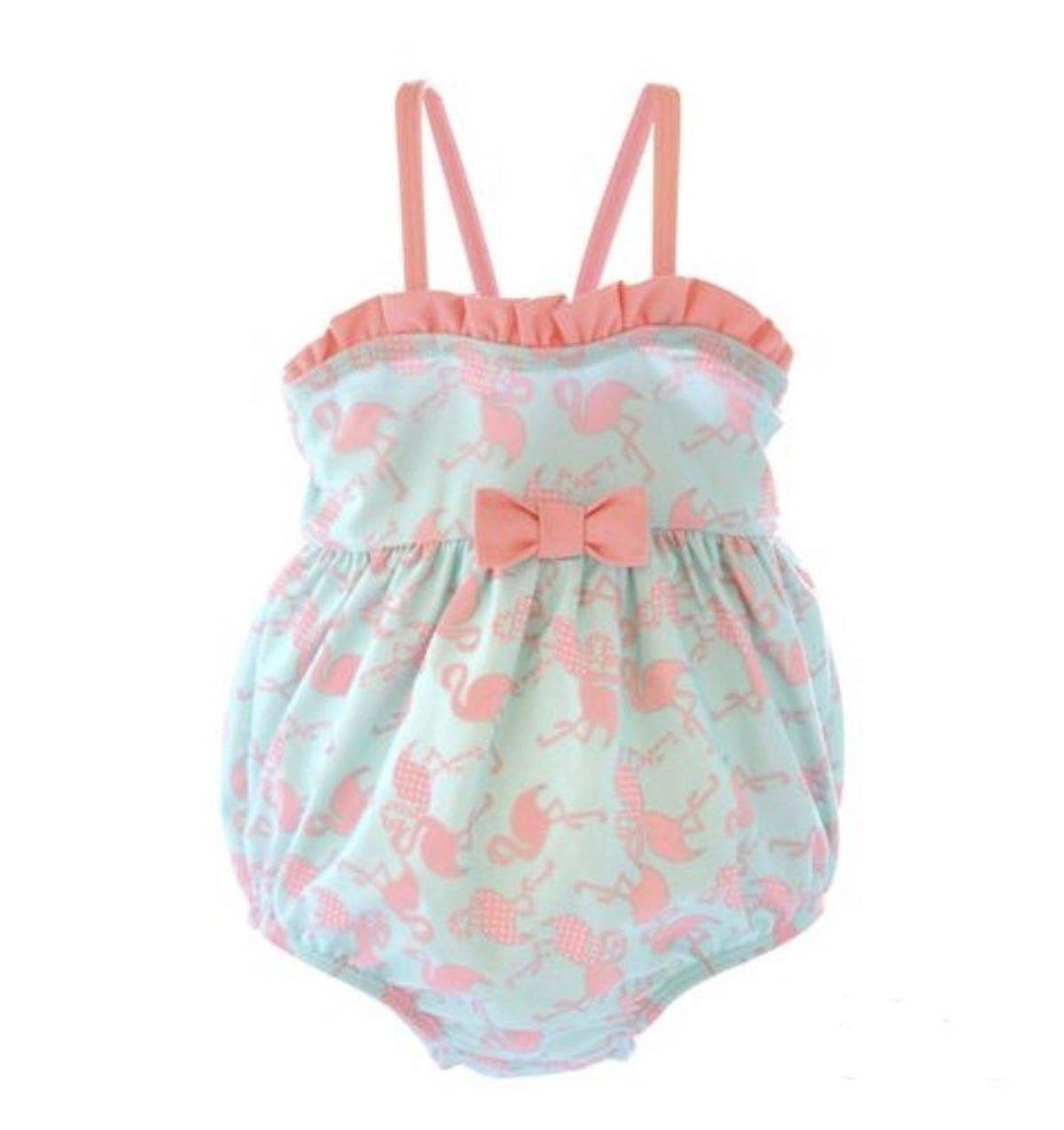 Infant Bathing Suit | Baby girl swimsuit, Newborn girl