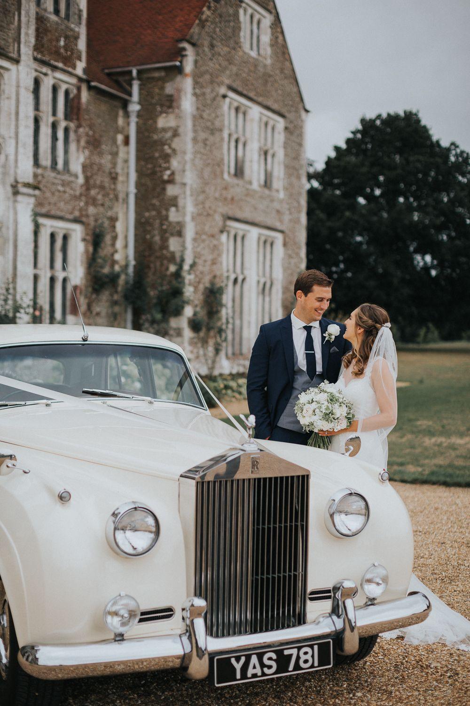 Loseley Park Wedding Elegant & Fun Fairy Lit Barn Reception
