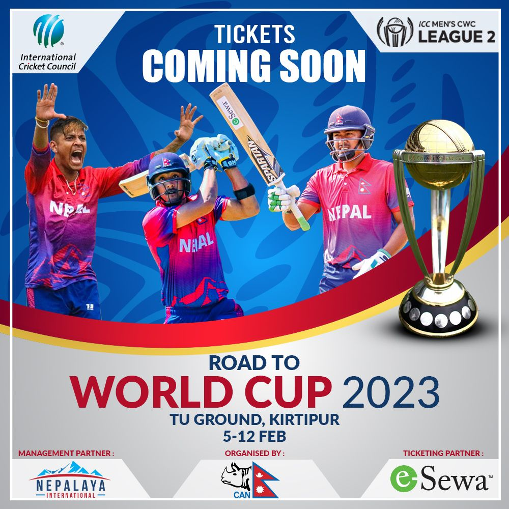 Tri Series Tournament Of Cricket World Cup Qualifier In Nepal In 2020 Cricket World Cup World Cup World Cup Qualifiers