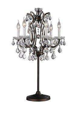 Antique Finish Rustic Table Lamp
