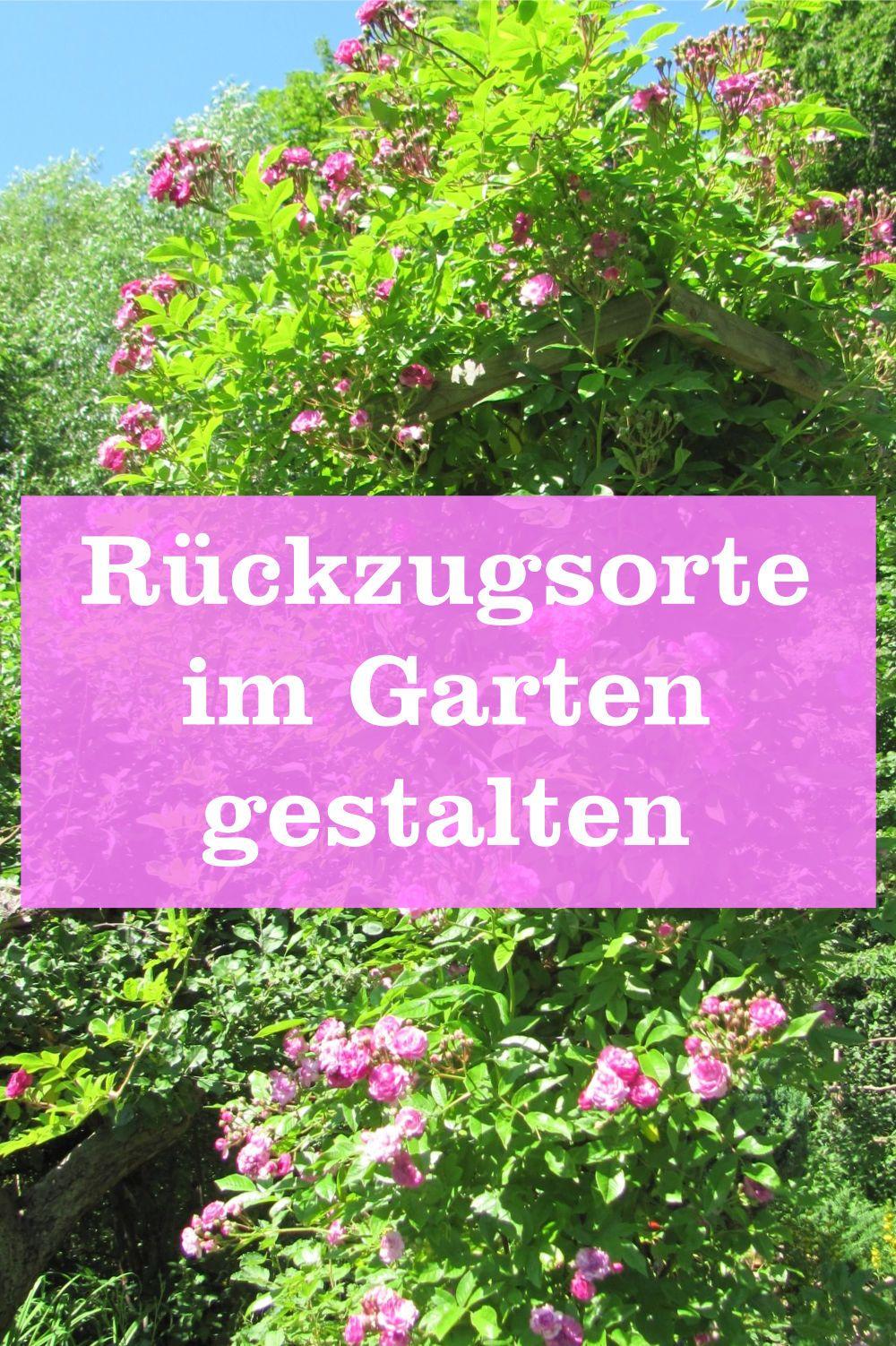 Photo of Rückzugsorten im Garten gestalten