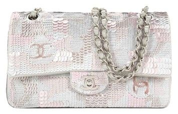 b28677ff99ef Chanel Sequin Embroidered Satin Flap New Shoulder Bag. Get one of the  hottest styles of the season! The Chanel Sequin Embroidered Satin Flap New  Shoulder ...