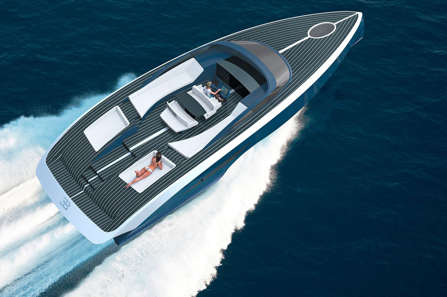 Bugatti And Palmer Johnson Will Team Up To Create Niniette, A New Series Of  Fast And Elegant Sport Yachts.