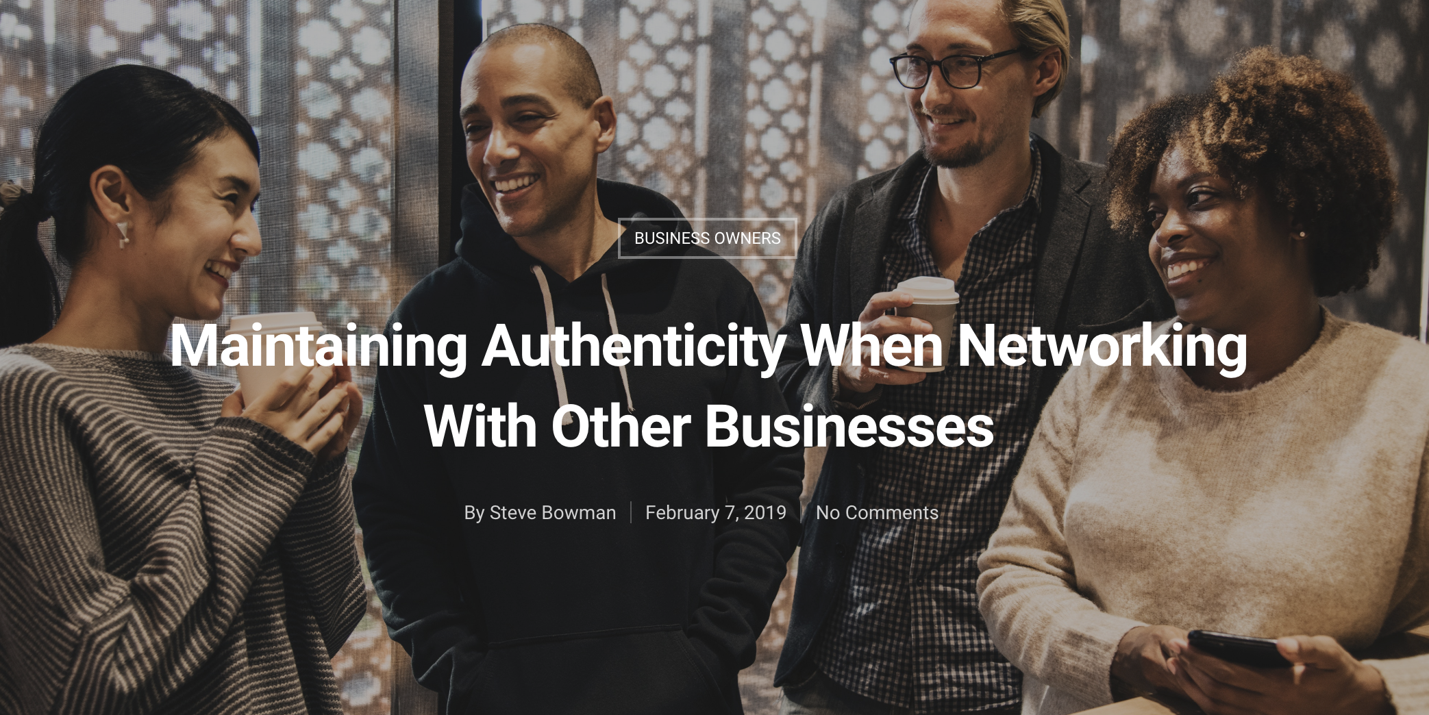 Maintaining Authenticity When Networking With Other