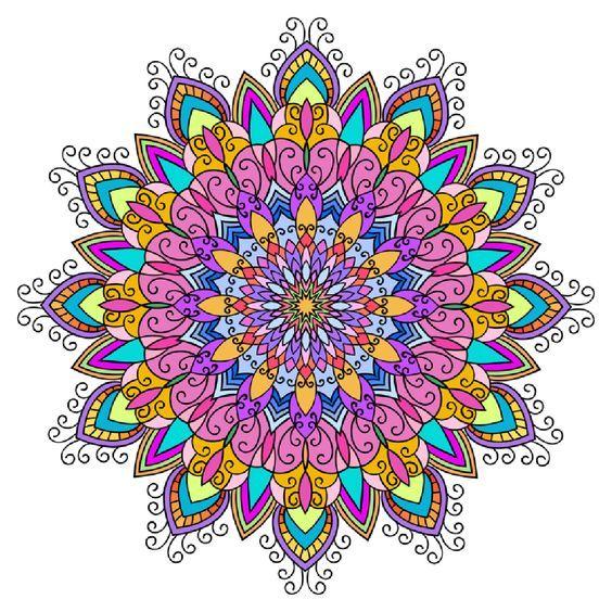 收藏到 Mandala Coloring Pages for Adults