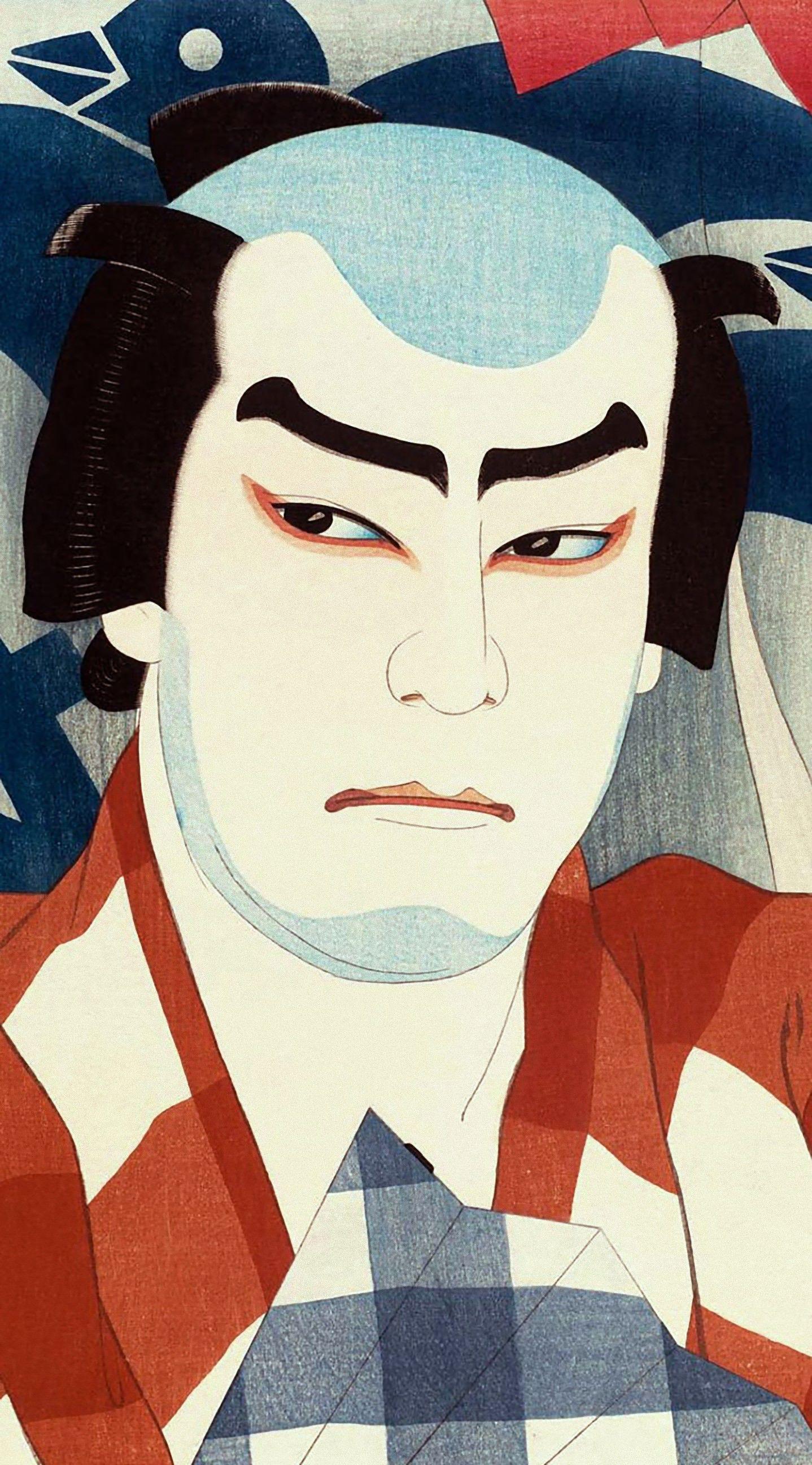 iPhone壁紙 by 浮世絵壁紙 - 美しい日本画ギャラリー http://goo.gl/MGWNar