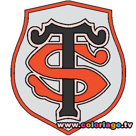 Super Coloriage stade toulousain a imprimer | DESSIN | Pinterest | Stade  RJ72