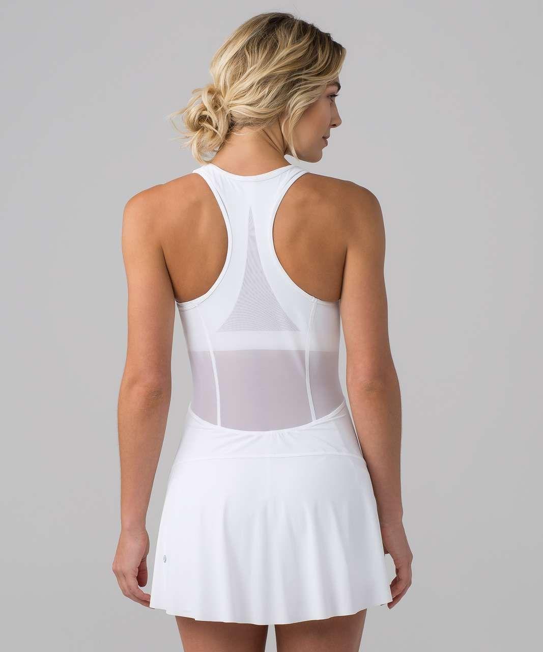 Lululemon Final Lap Dress White Lulu Fanatics Sport Dress Outfit Tennis Outfit Women Tennis Skirt Outfit [ 1280 x 1067 Pixel ]