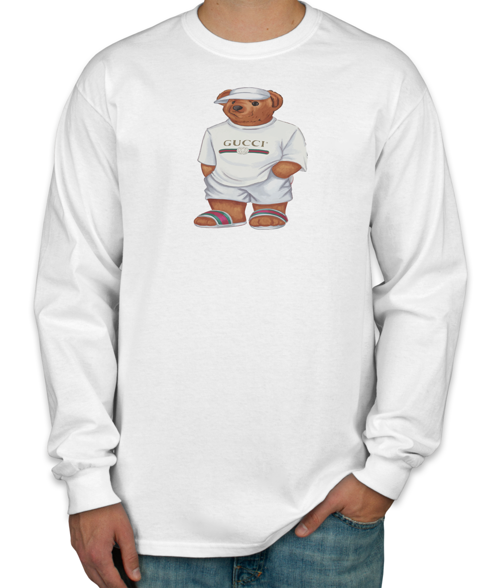 97365ab8d98 LIFE S GUCCI BEAR Long Sleeve T-Shirt in 2019