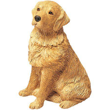 Sandicast Inchmid Sizeinch Sitting Golden Retriever Dog Sculpture