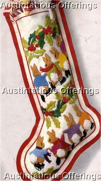 ... Interesting Knitted Christmas Stocking Kits Extraordinary Personalized  Stockings ...