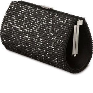 clutchbag with crystals