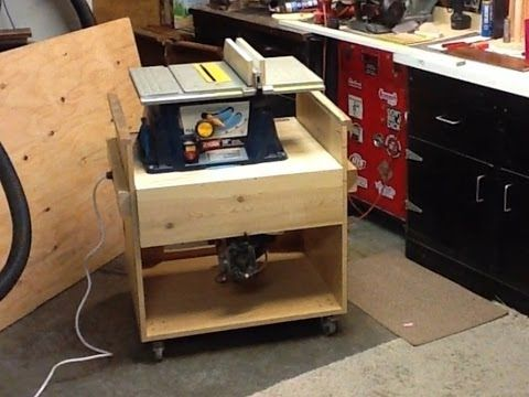 Flip Top Tool Stand 002 Tool Stand Miter Saw Miter Saws