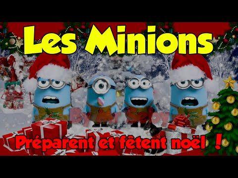 Les minions chantent no l youtube french songs noel f te de fin d 39 ann e minions - Les minions noel ...