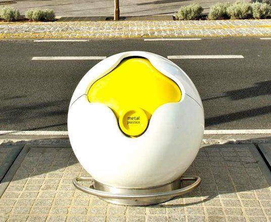 poubelle de rue  Design  Poubelle design Poubelle de rue et Poubelle tri
