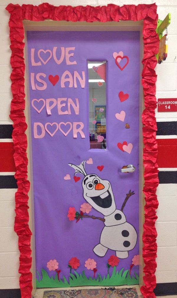 27 Creative Classroom Door Decorations For Valentine S Day Kiddos