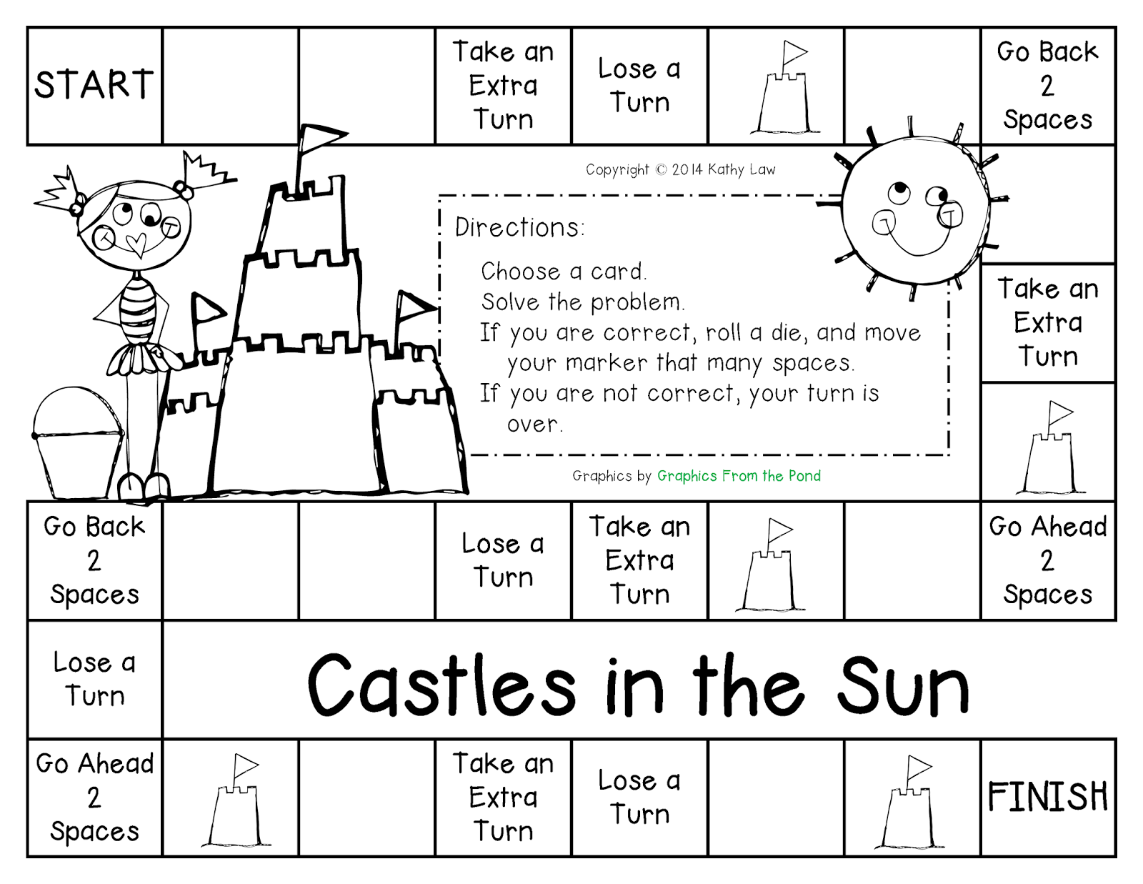 Don T Miss Out Castles In The Sun Game Board