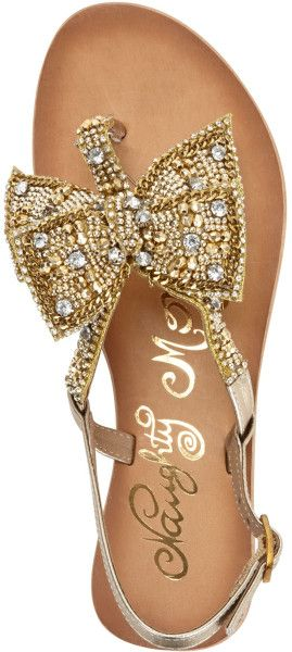279327afc5fe Women s Metallic Jewel Delight Flat Thong Sandals